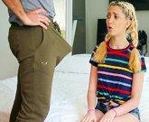 SPYFAM – Kinky step daughter tastes big dick step dad